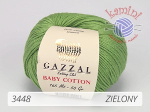 Baby Cotton 3448 zielony