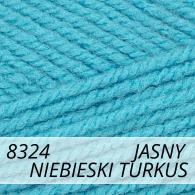 Bravo 8324 jasny niebieski turkus