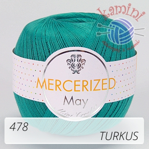 Mercerized 478 turkus