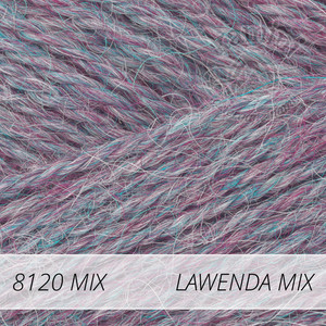 Alpaca Mix 8120 lawenda mix