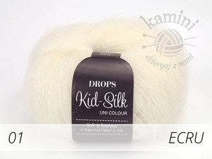 Kid-Silk 01 ecru