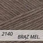 Regia 2140 brąz melanż