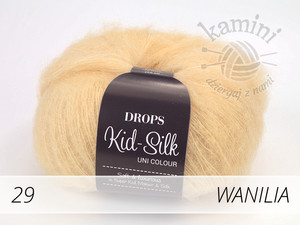 Kid-Silk 29 wanilia