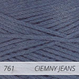 Macrame Cotton 761 ciemny jeans
