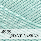 Camilla 6/4 4939 jasny turkus