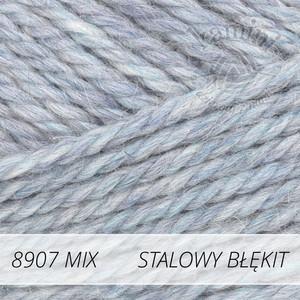 Nepal Mix 8907 stalowy błękit