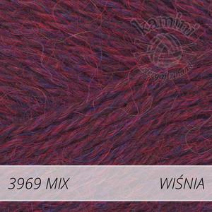 Alpaca Mix 3969 wiśnia