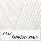 Baby Cotton 3432 śnieżny biały