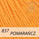Baby Wool 837 pomarańczowy