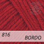 Baby Wool 816 bordo