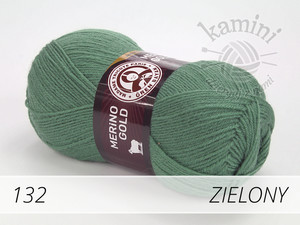 Merino Gold 132 zielony
