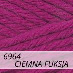 Sport Wool 6964 ciemna fuksja