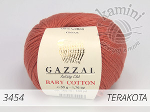 Baby Cotton 3454 terakota