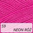 Cotton Soft 59 neon róż