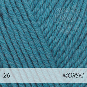 Cotton Merino 26 morski