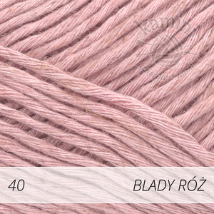 Soft Linen Mix 40 blady róż
