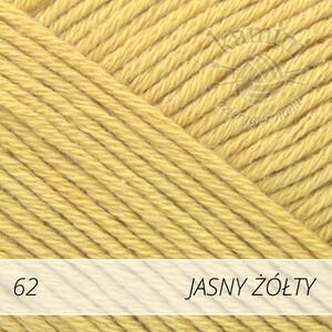 Safran 62 jasny żółty