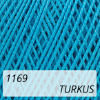 Mercerized Mini Crochet 1169 turkus