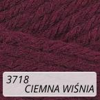 Sport Wool 3718 ciemna wiśnia