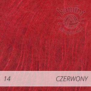 Kid-Silk 14 czerwony
