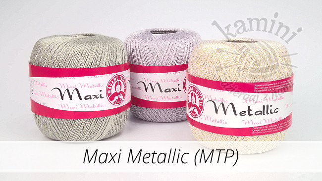 MAXI METALLIC (Madame Tricote Paris)