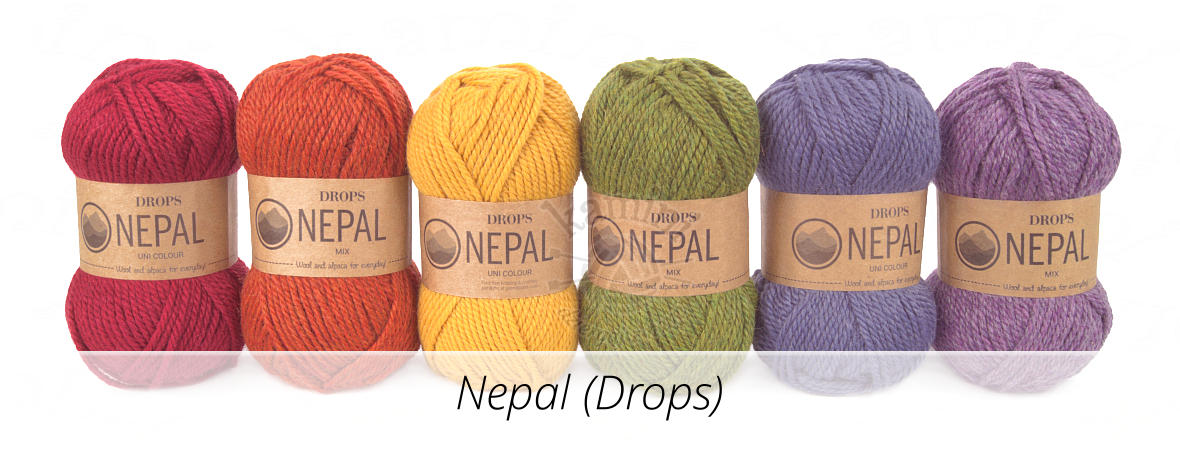 Nepal Mix i Nepal Uni Colour (Drops)